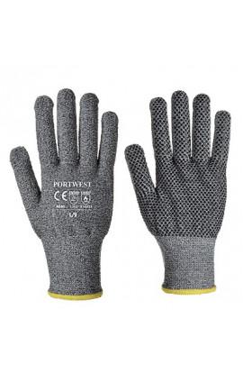 Rękawice antyprzecięciowe nakrapiane kat.5 A640