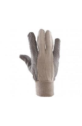Rękawica bawełniana drelichowa nakrapiana PCV
